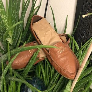 Coach Leather loafers. Driving Shoes